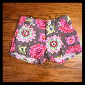 Flowered Old Navy shorts